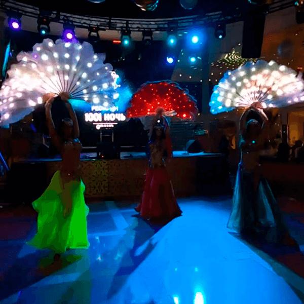 """Танцевальная шоу-программа в ресторане """"Сказка Востока 1001 Ночь"""""""